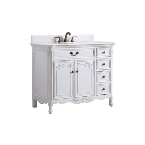 """42"""" Bathroon Vanity Sink"""