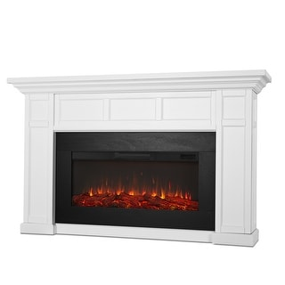 """Link to Real Flame 4130E Alcott 5000 BTU / 1500W 75"""" Wide Free Standing Similar Items in Fireplaces"""