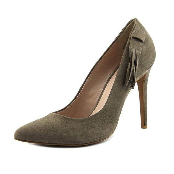 Nine West Ginny Women Grey Pumps