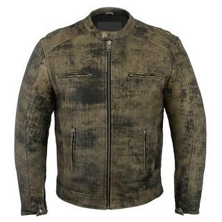 Men's Antique Brown Cruiser Jacket