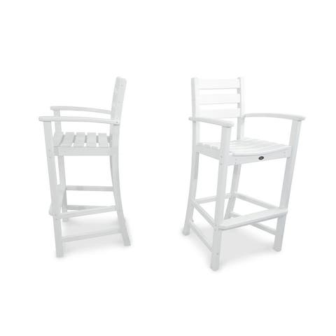 Trex Outdoor Furniture Monterey Bay 2-Piece Bar Chair Set