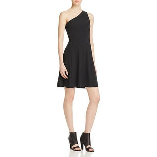 Theory Womens Cocktail Dress A-line One Shoulder