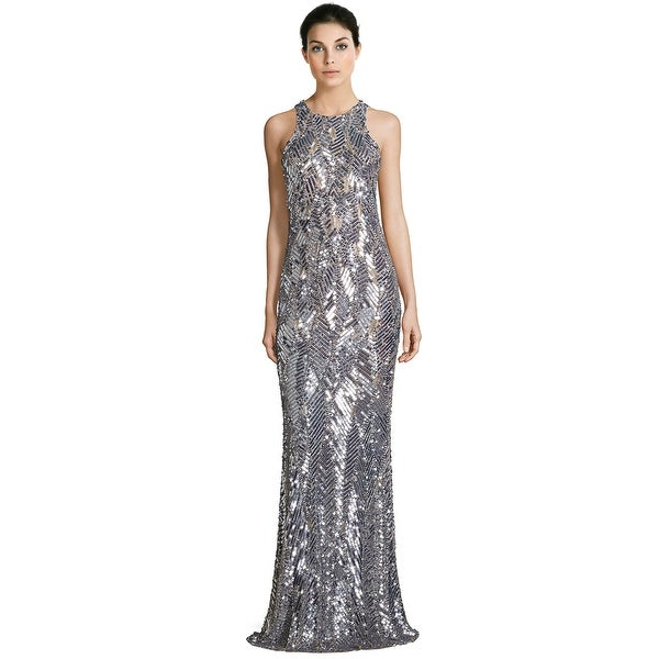 8f6c81490e Shop Parker Black Seanna Embellished Sleeveless Evening Gown Dress ...