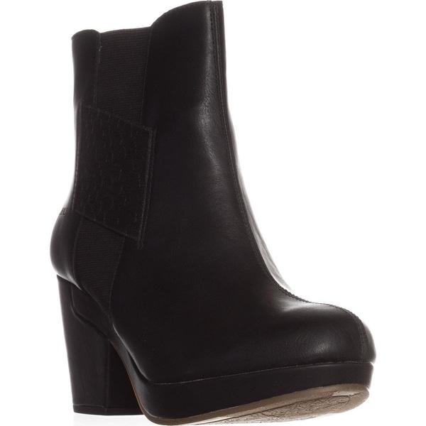JBU by Jambu Peterson Platform Casual Ankle Boots, Black