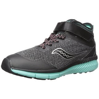 Kids Saucony Girls Ideal Mid Low Top Lace Up Fashion Sneaker