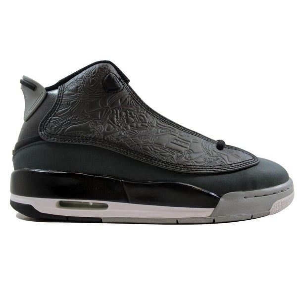 outlet store f6e88 18fa8 Nike Air Jordan Dub Zero Black White-Classic Charcoal-Wolf Grey 311047-