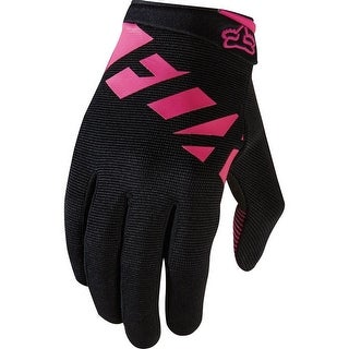 Fox Racing Womens Ripley Glove - 18478-285 - Black/Pink