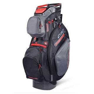 New 2019 Sun Mountain C 130 Golf Cart Bag Gunmetal Black Red CLOSEOUT Gunmetal Black Red