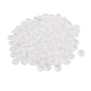 200pcs 14mmx14mm Faux Crystal Octagonal Shaped Beads for DIY Light Accessories
