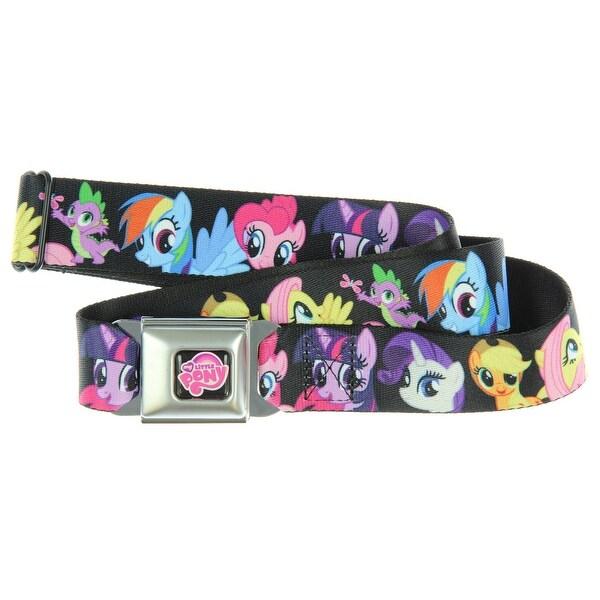 My Little Pony Group Character Seatbelt Belt-Holds Pants Up