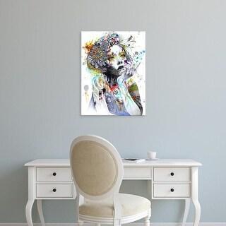 Easy Art Prints Minjae Lee's 'Circulation' Premium Canvas Art