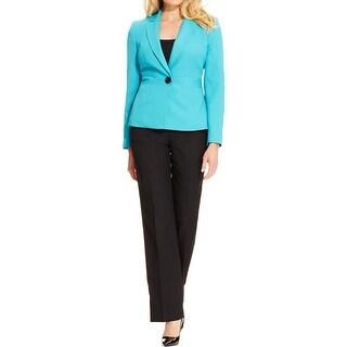 Le Suit Womens Petites Pant Suit 2PC Trouser