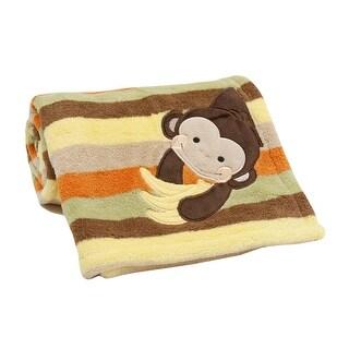 Lambs & Ivy Brown Tickles Baby Blanket