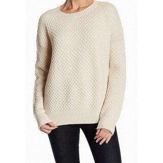 Vince. NEW White Ivory Womens Size Medium M Knitted Wool Sweater