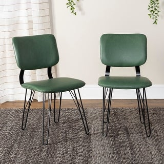 Carson Carrington Halls Flex-back Dining Chairs (Set of 2)