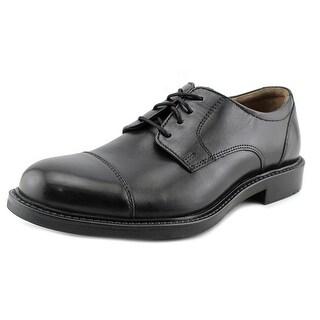 Johnston & Murphy Tabor Cap Toe Apron Toe Leather Loafer