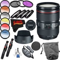 Canon EF 24-105mm f/4L IS II USM Lens International Version (No Warranty) Professional Accessory Combo
