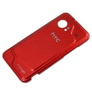OEM HTC DROID Incredible 6300 Standard Battery Door (Red) (Bulk Packaging)