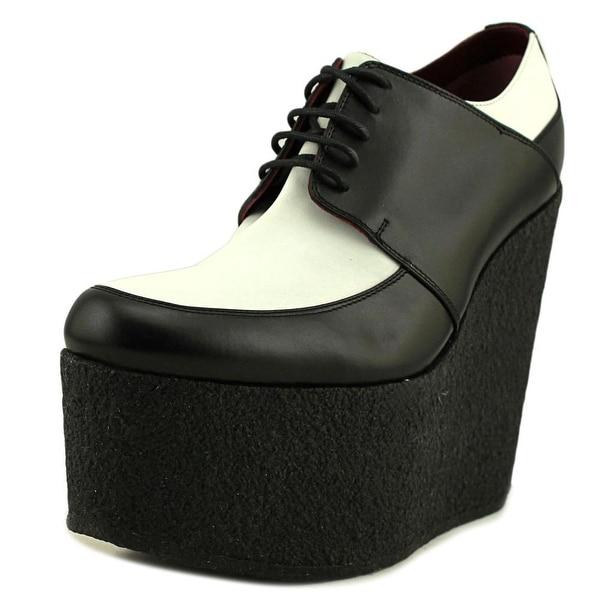 Celine Fabiola Women Open Toe Leather Multi Color Platform Heel