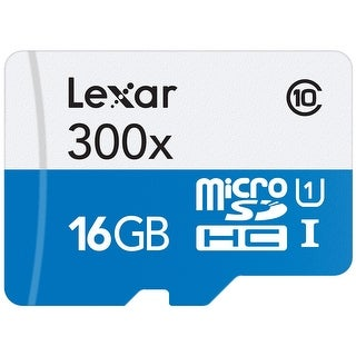High-Performance 16GB 300x microSDHC