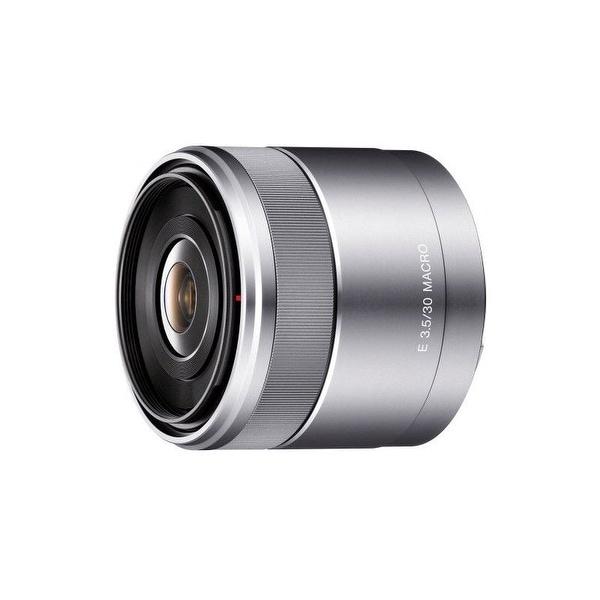 Sony 30mm f/3.5 Macro Lens for Alpha NEX Cameras - silver