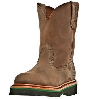 Johnny Popper Work Boots Boys Kids Cowboy Gaucho Nutty Mule JD2173