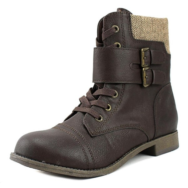 Rampage Jency Women Round Toe Synthetic Ankle Boot