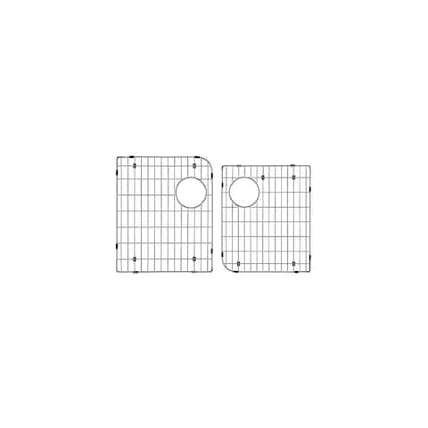 """Transolid Stainless Steel 16.03-in. Bottom Sink Grid Set - 16.03"""" x 13.03"""" x 1"""""""