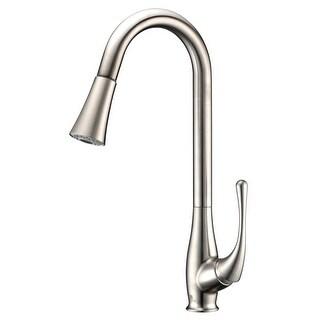 Anzzi KF-AZ042 Singer Pull Down Spray 1.95 GPM Kitchen Faucet