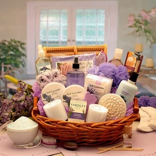 Link to The Essence of Lavender Spa Gift Basket Similar Items in Spa & Relaxation Baskets