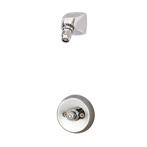 Symmons 3-325 Showeroff Shower Only Trim Package with 2.5 GPM Shower Head and Rough In - Polished Chrome