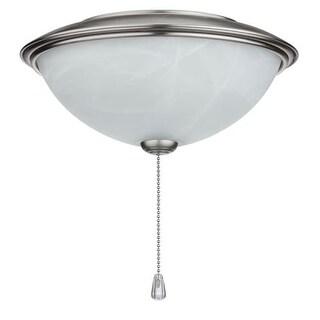 NuTone LK30ABS Contemporary Bowl Light Kit Alabaster Glass