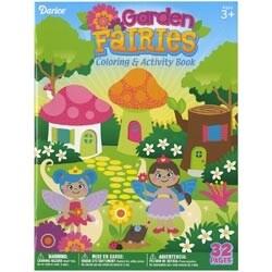 Garden Fairies - Darice Coloring Book