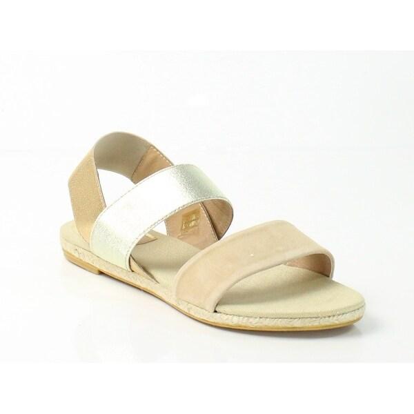 Vidorreta NEW Beige V-Leo Shoes Size 8M Strappy Leather Sandals