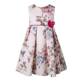 Richie House Girls' Sweet flower dress