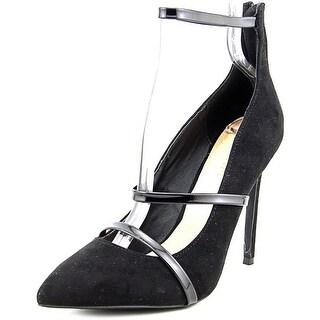 Liliana Gisele-65 Women W Pointed Toe Synthetic Heels