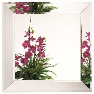 Alno 2640-101 23-1/2 x 23-1/2 Inch Frameless Square Mirror