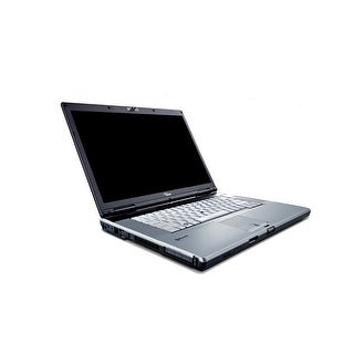 "Fujitsu LifeBook E8410 15.4"" Black & Gray Refurbished Laptop - Intel Core 2 Duo 2.2 GHz 4GB 250GB DVD-RW Windows 10 Home 64-Bit"