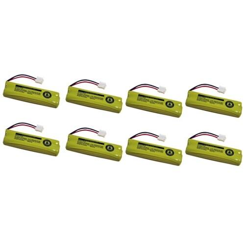 Replacement VTech BT18443 / BT28443 NiMH Cordless Phone Battery - 500 mAh / 2.4V -8Pack