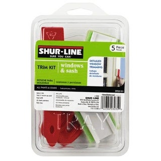 Shur-Line 3955121 Window Trim Kit, 5 Piece