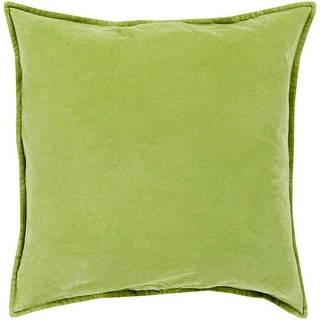 Link to Harrell Solid Velvet 22-inch Feather Down or Poly Filled Pillow Similar Items in Decorative Accessories