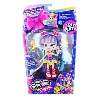 Shopkins Shoppies S4 Party Doll: Rainbow Kate (Fancy Dress Party)