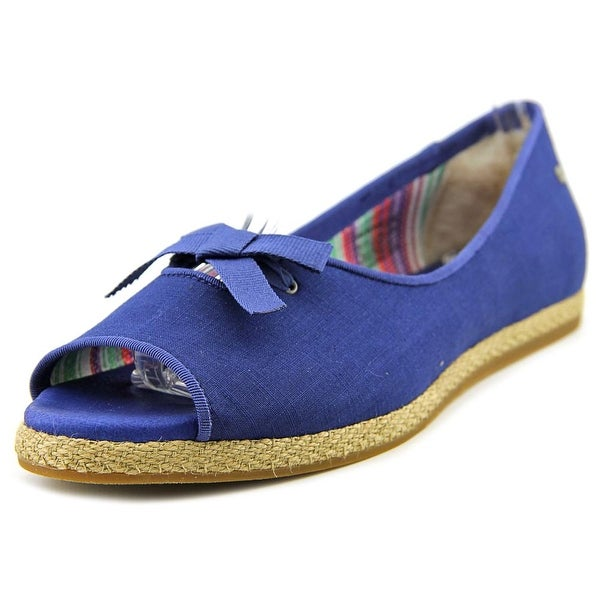 Ugg Australia Marleigh Women Open-Toe Canvas Flats