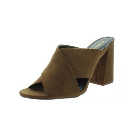BCBGeneration Womens Rachel Dress Sandals Microsuede Open Toe