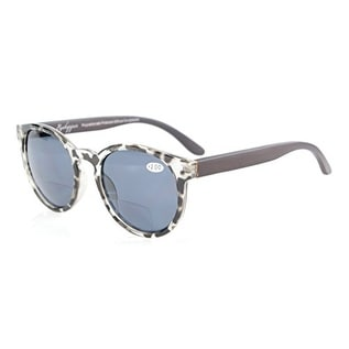 7064f65806 Shop Eyekepper Wood Arms Spring Hinges Polarized Bifocal Sunglasses Grey  Tortoise +1.5 - Free Shipping On Orders Over  45 - Overstock.com - 17781735