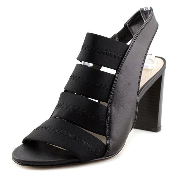 Alfani Womens RENNATAH Leather Open Toe Casual Strappy Sandals