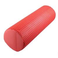 Training Yoga Pilates Foam Muscle Massage Stiffness Roller Brick Red 45cm Length