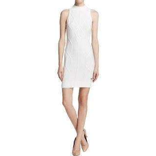 Guess Womens Sweaterdress Ribbed Trim Halter