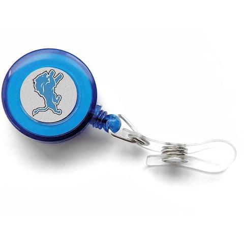 Detroit Lions Retractable Badge Reel Id Ticket Clip NFL