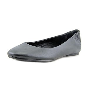 Via Spiga Jaden Women Round Toe Leather Black Flats